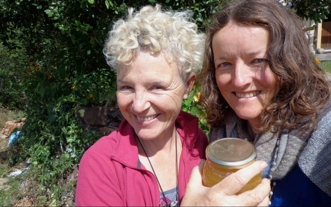 Dee and Clare make Marmalade